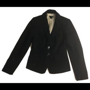 Ann Taylor navy blue blazer size 00P